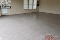 528 Garage Floor Epoxy Flake Concrete Coating Arlington Grider GC-01 Ridgeback 15
