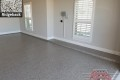 529 Garage Floor Epoxy Flake Concrete Coating Haslet Hopkins GC-01 Ridgeback 05
