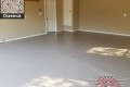530 Garage Floor Epoxy Flake Concrete Coating Weatherford Everhart B-822 Chestnut 8
