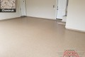532 Garage Floor Epoxy Flake Concrete Coating Denton Karabetsos B-822 Chestnut 08
