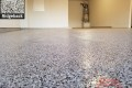 537 Garage Floor Epoxy Flake Concrete Coating Mansfield Mackley GC-01 Ridgeback 04