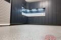 C-081 Garage Storage Cabinets Flower Mound McCabe Carbon Mesh Garage Floor Epoxy Flake Concrete Coating GC-05 Bluestone 02