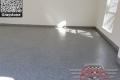 458 Garage Floor Epoxy Flake Concrete Coating Colleyville Setser GC-02 Graystone 01