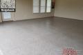 528 Garage Floor Epoxy Flake Concrete Coating Arlington Grider GC-01 Ridgeback 15