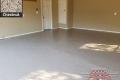 530 Garage Floor Epoxy Flake Concrete Coating Weatherford Everhart B-822 Chestnut 8