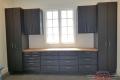 C-094 Garage Storage Cabinets Dallas GDR Lindhurst Slate Gray