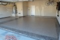 59 Garage Floor Epoxy Flake Concrete Coating Denton Battle B-517 Outback Border 07