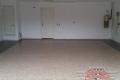 133 Garage Floor Epoxy Flake Concrete Coating Dallas Donath B-517 Outback Border 01