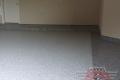 185 Garage Floor Epoxy Flake Concrete Coating McKinney Salinas B-127 Cabin Fever Border 01