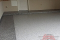 185 Garage Floor Epoxy Flake Concrete Coating McKinney Salinas B-127 Cabin Fever Border 05