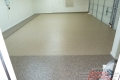 20 Garage Floor Epoxy Flake Concrete Coating Flower Mound Tempelman B-822 Chestnut Border01