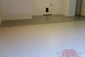 255 Garage Floor Epoxy Flake Concrete Coating Southlake Raintree B-127 Cabin Fever Border05