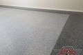 485 Garage Floor Epoxy Flake Concrete Coating Heath DeLeon GC-02B Bluestone Border