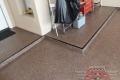 9 Garage Floor Epoxy Flake Concrete Coating Denton Stewart B-317 Mardi Gras17