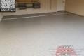 442 Garage Floor Epoxy Flake Concrete Coating Allen Wing B-127 Cabin Fever 03