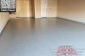 445 Garage Floor Epoxy Flake Concrete Coating Denton Robson Ranch McNaughton B-127 Cabin Fever 05