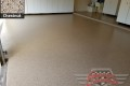 483 Garage Floor Epoxy Flake Concrete Coating Denton Robson Ranch Smith B-822 Chestnut08