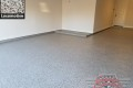 518 Garage Floor Epoxy Flake Concrete Coating Prosper Lenski GC-127L Locomotive 06