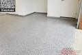 533 Garage Floor Epoxy Flake Concrete Coating Westlake Dhanuka GC-02 GrayStone 06