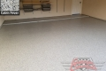 442 Garage Floor Epoxy Flake Concrete Coating Allen Wing B-127 Cabin Fever 03