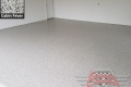 444 Garage Floor Epoxy Flake Concrete Coating Waxahachie Morgan B-127 Cabin Fever 03