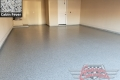 445 Garage Floor Epoxy Flake Concrete Coating Denton Robson Ranch McNaughton B-127 Cabin Fever 05