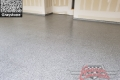 449 Garage Floor Epoxy Flake Concrete Coating Forney Aurentz GC-02 Graystone 05