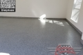 458 Garage Floor Epoxy Flake Concrete Coating Colleyville Setser GC-02 Graystone 01