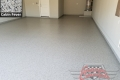 474 Garage Floor Epoxy Flake Concrete Coating Denton Robson Ranch McGlaston B-127 Cabin Fever 05