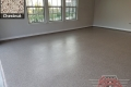 519 Garage Floor Epoxy Flake Concrete Coating Arlington Coleman B-822 Chestnut 14