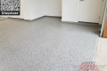 533 Garage Floor Epoxy Flake Concrete Coating Westlake Dhanuka GC-02 GrayStone 06